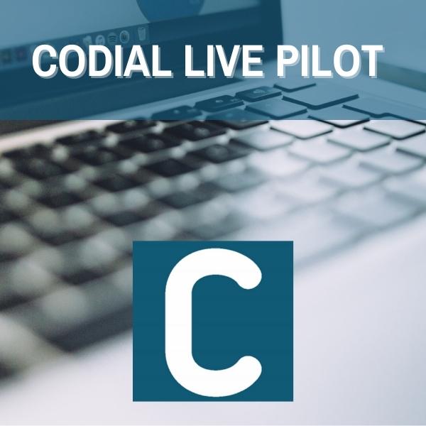 logiciel codial live pilot